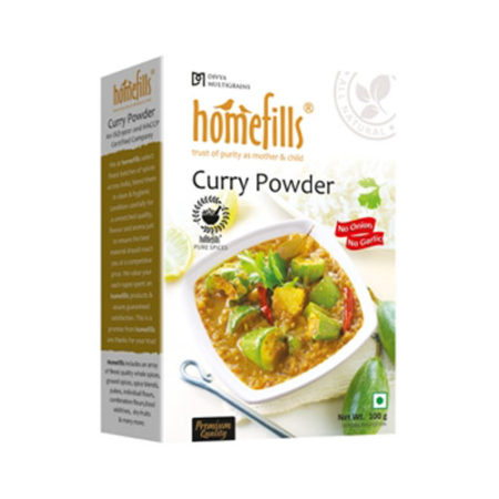 Homefills Curry Powder ( No Onion No Garlic ) - 100 gm
