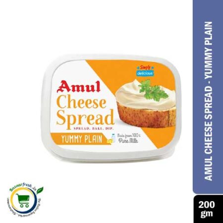 Amul Cheese Spread - Yummy Plain at bazaarfresh.in