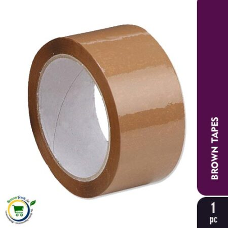 Brown Self Adhesive Tape Roll