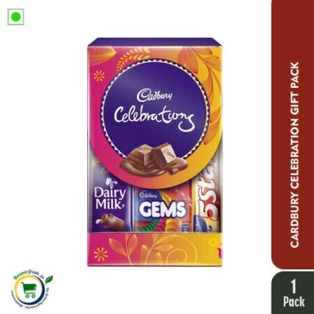 Cadbury Celebrations Assorted Chocolate Gift Pack, 64.2g