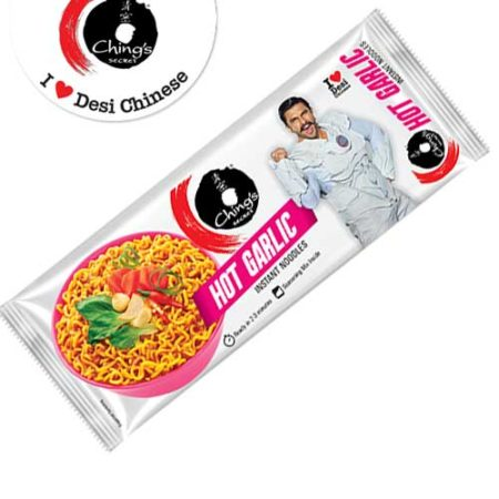 Chings Instant Noodles - Hot Garlic