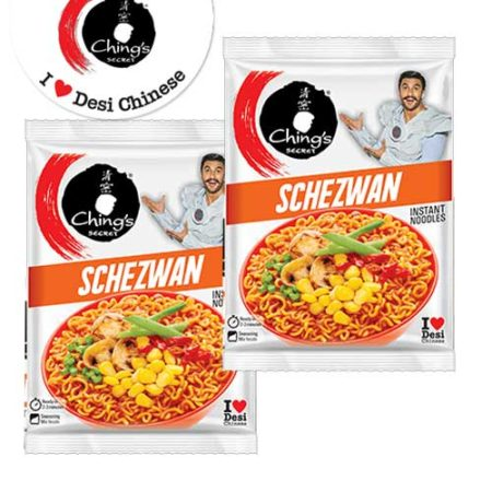 Chings Instant Noodles - Schezwan 60g