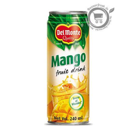 Del Monte Mango Fruit Drink Can