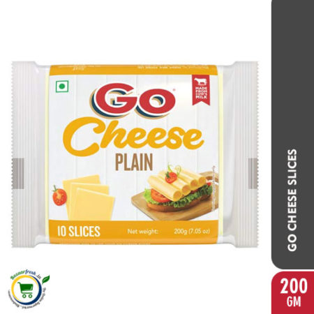 GO Cheese Slices - 200gm