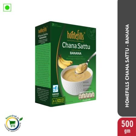 Homefills Chana Sattu Banana 500gm