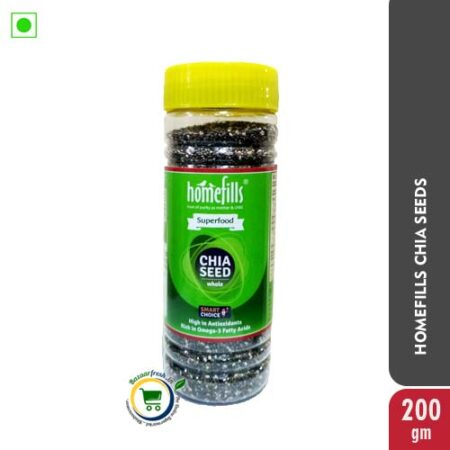 Homefills Chia Seeds 200gm