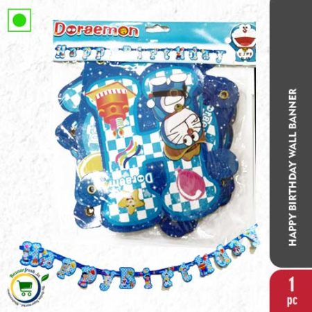 Happy Birthday Wall Banner - 1Pc