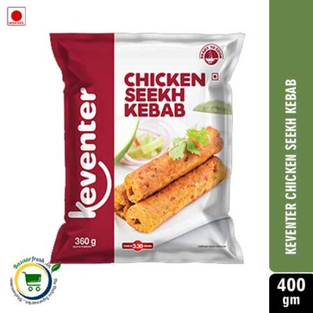 Keventer Chicken Seekh Kebab 400g