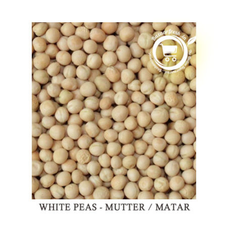 white peas or matar