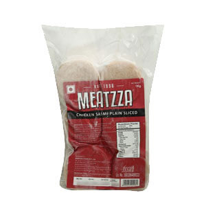 Meatzza Plain Chicken Salami