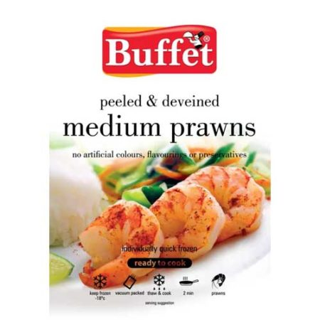 Buffet Medium Prawns