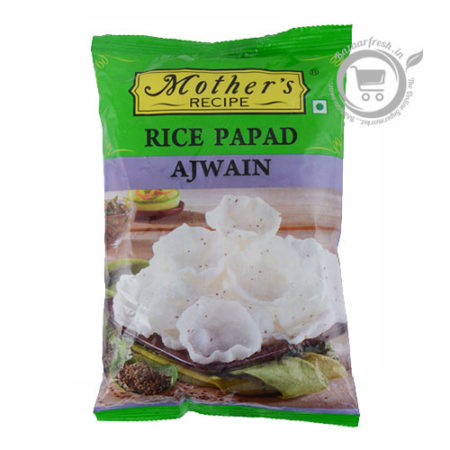 Mothers Recipe Rice Papad - Ajwain