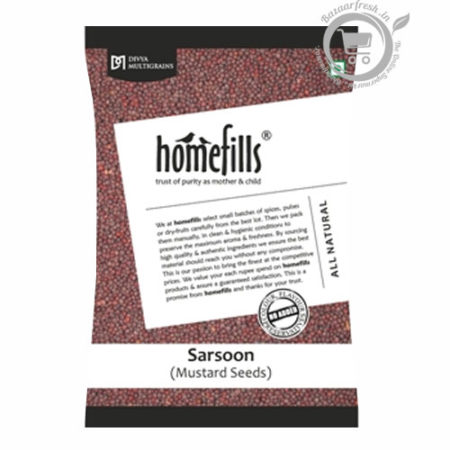 Homefills Mustard Seeds - 200gm