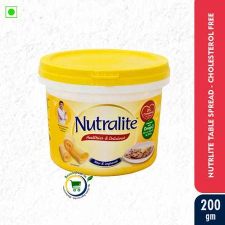 Nutralite Healthier & Delicious Fat Spread With Omega-3 & 0% Cholesterol