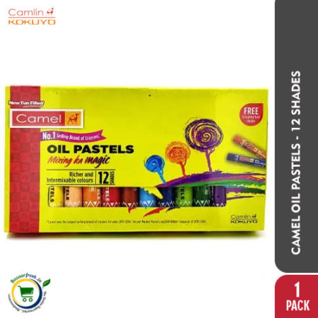 Camel Oil Pastels - 12 Shades