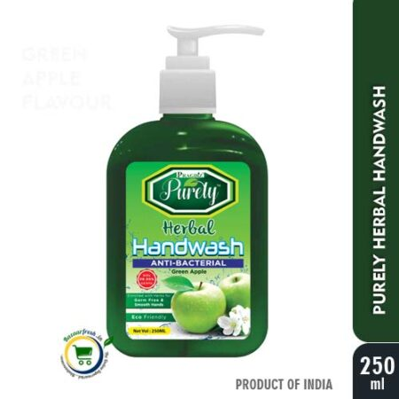 Purely Herbal Hand Wash (Green Apple) - 250ml