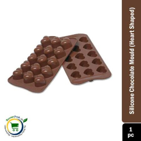 Silicone Chocolate Mould (Heart Shaped)