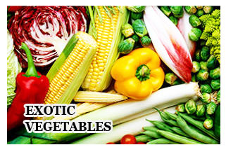 Exotic Vegetables