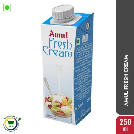 Amul Fresh Cream - 250ml