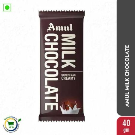 Amul Milk Chocolate - 40gm