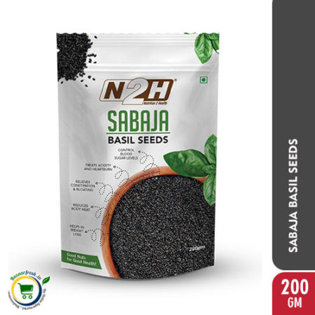 N2H Sabaja Basil Seeds - 200gm