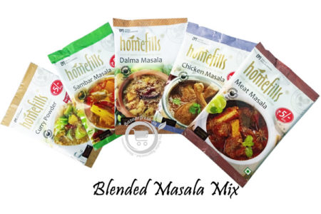 Homefills Blended Masala Powder Sachets
