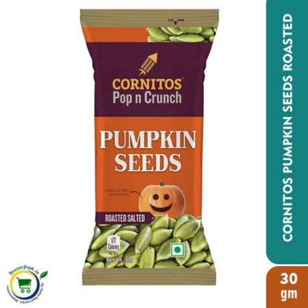 Cornitos Pop n Crunch - Pumpkin Seeds Roasted - 30gm