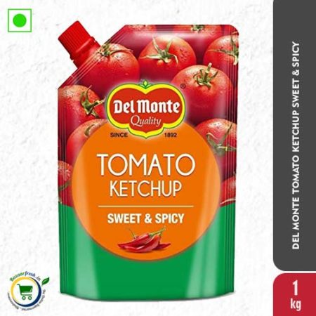Del Monte Tomato Ketchup - Sweet & Spicy Spout - 1kg