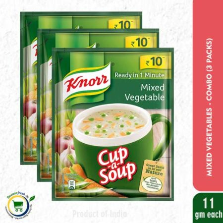 Knorr Cup-A-Soup - Mixed Vegetable - 11g
