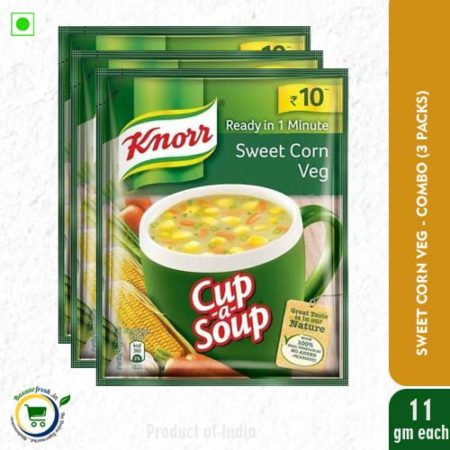 Knorr Cup-A-Soup - Sweet Corn Veg - 11g
