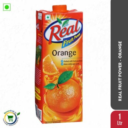 Real Orange Juice 1Ltr