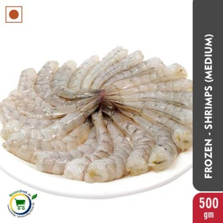 Shrimps - Medium 21/25 PDTO [Frozen] - 500G