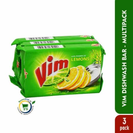 Vim Dishwash Bar - 150gm Combo [ Pack of 3 ]